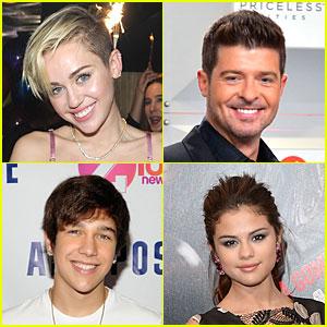 Miley Cyrus & Selena Gomez: Z100 Jingle Ball Lineup 2013!