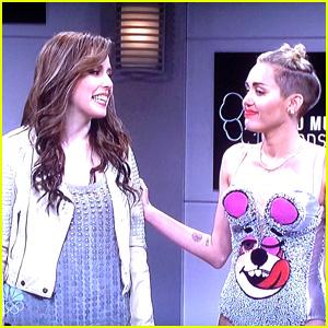 Miley Cyrus 'SNL' Cold Open: VMAs Jokes! (WATCH VIDEO)