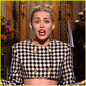 Miley Cyrus: 'SNL' Opening Monologue Video - WATCH NOW!