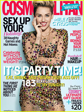 Miley Cyrus Talks Being Single in 'Cosmo' December 2013