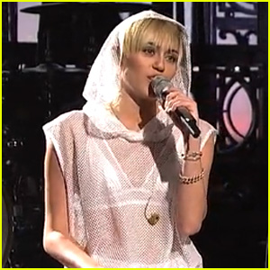 Miley Cyrus Performs 'We Can't Stop' on SNL - Watch Now!