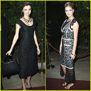 Miranda Kerr & Kate Upton: 'Mademoiselle C' Cocktail Party!
