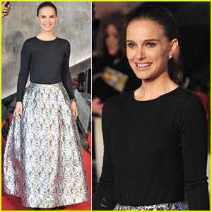 Natalie Portman: 'Thor: The Dark World' Premiere in London!