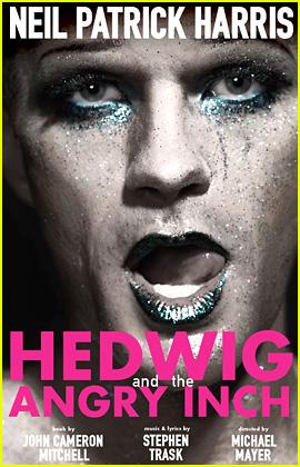 Neil Patrick Harris: Glitter Makeup for 'Hedwig' Broadway Poster!