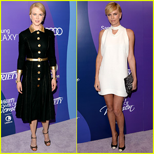 Nicole Kidman & Charlize Theron: Variety Power of Women 2013