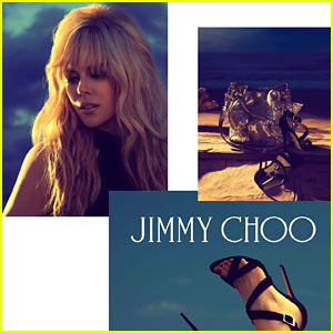 Nicole Kidman Channels Brigitte Bardot for Jimmy Choo Images!