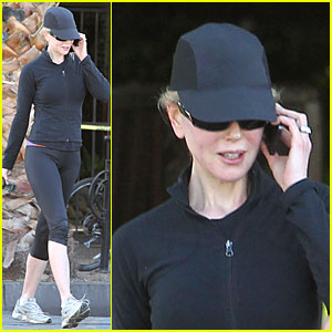 Nicole Kidman Stays Fit After Variety Power of Women 2013