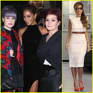 Nicole Scherzinger: Dinner with Kelly & Sharon Osbourne!