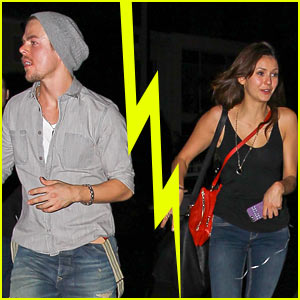 Nina Dobrev Derek Hough Split After Six Weeks Derek Hough Nina Dobrev Split Just Jared