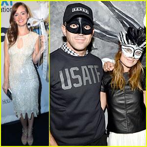 Olivia Wilde & Ahna O'Reilly: UNICEF's Masquerade Ball 2013