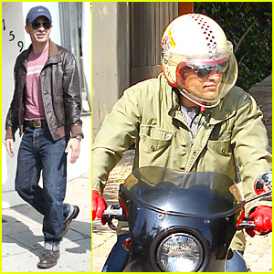 Olivier Martinez: 'Unstoppable' Motorcycle Rider!