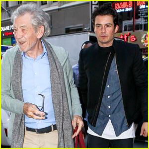 Orlando Bloom & Ian McKellen Promote 'Hobbit' on 'Today'!