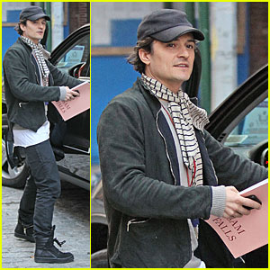 Orlando Bloom Steps Out After Miranda Kerr Separation