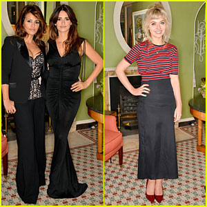 Penelope Cruz: L'Agent by Agent Provocateur Dinner with Sis Monica!