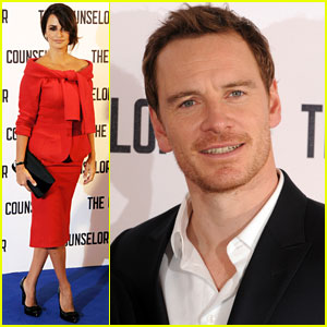 Penelope Cruz & Michael Fassbender: 'Counselor' London Photo Call