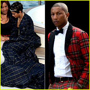 pharrell williams marries helen lasichanh see wedding
