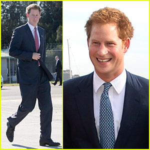 Prince Harry Departs Sydney Airport for Australian City Perth!
