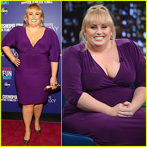 Rebel Wilson: 'Super Fun Night' Premiere!