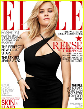 Reese Witherspoon Covers 'Elle' Women in Hollywood Issue