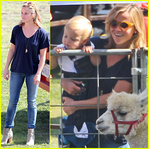 Reese Witherspoon & Jim Toth: Brentwood Corn Festival