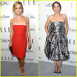 Reese Witherspoon & Marion Cotillard: 'Elle' Women in Hollywood Celebration!