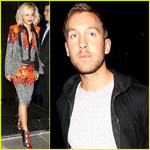 Rita Ora & Calvin Harris: Hakkasan Dinner Date!