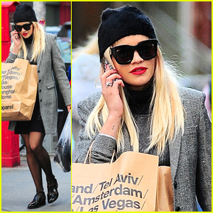 Rita Ora: 'Getting Ready for Halloween'!