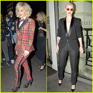 Rita Ora & Iggy Azalea: Rimmel London 180 Years of Cool Party!
