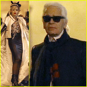 Rita Ora: Midnight Photo Shoot with 'Uncle' Karl Lagerfeld!