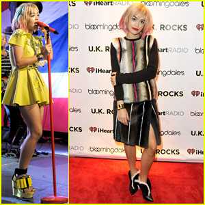 Rita Ora Performs Live at iHeartRadio's UK Rocks Concert!