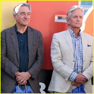 Robert De Niro & Michael Douglas: 'Last Vegas' Cast Honored with Key to the City