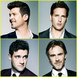 Robin Thicke & Peter Facinelli: GQ's Gentlemen's Fund Ambassadors!