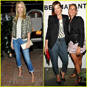 Rosie Huntington-Whiteley & Milla Jovovich: Isabel Marant BBQ!