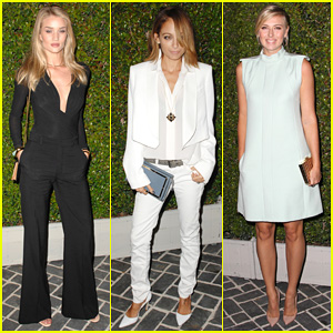 Rosie Huntington-Whiteley & Nicole Richie: Chloe Fashion Show & Dinner!