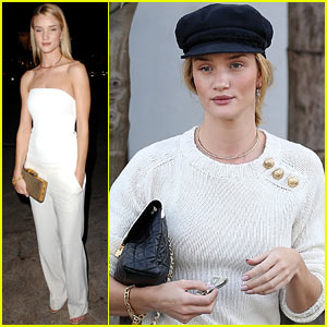 Rosie Huntington-Whiteley: CFDA & Vogue Fashion Fund Dinner