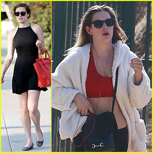 Rumer Willis' Younger Sister Scout Rocks Red Sports Bra!