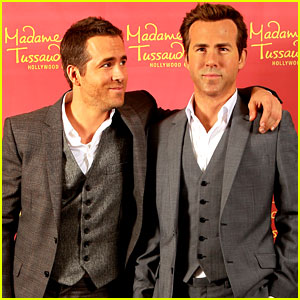 Ryan Reynolds: Madame Tussauds Wax Figure Unveiling