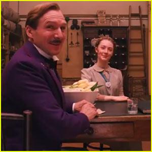 Saoirse Ronan & Ralph Fiennes: 'Grand Budapest Hotel' Trailer - Watch Now!