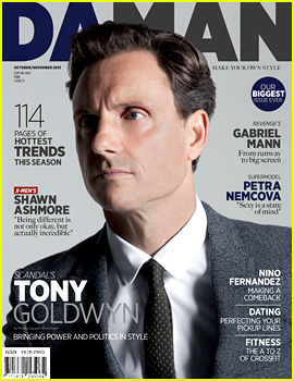 Scandal's Tony Goldwyn Covers 'Da Man' Oct/Nov 2013