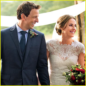 Seth Meyers: Wedding Photos with Alexi Ashe Revealed!