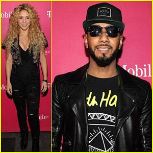 Shakira & Swizz Beatz: T-Mobile Unlimited Global Data Launch!