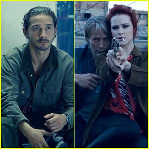Shia LaBeouf & Evan Rachel Wood: New 'Charlie Countryman' Stills!