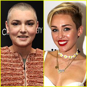 Sinead O'Connor Threatens to Sue Miley Cyrus, Third Letter!