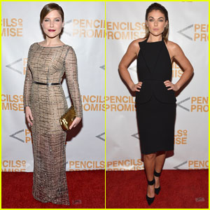 Sophia Bush & Serinda Swan: Pencils of Promise Gala 2013