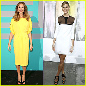 Stacy Keibler: Shiatzy Chen & Chanel Fashion Shows!