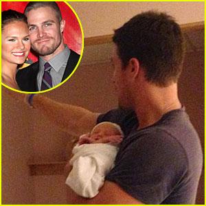 Stephen Amell Welcomes Daughter Mavi Alexandra Jean (Exclusive)
