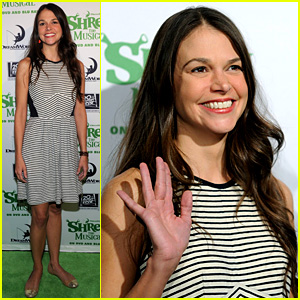Sutton Foster Launches 'Shrek the Musical' on Blu-ray/DVD!