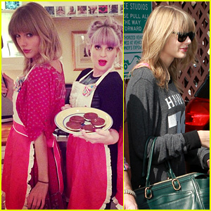 Taylor Swift Hits the Gym After Baking with Kelly Osbourne!