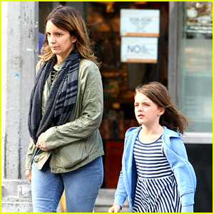 Tina Fey Steps Out with Daughter Alice After 'SNL' Episode