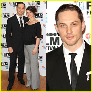 Tom Hardy & Charlotte Riley: 'Locke' BFI Film Fest Screening!